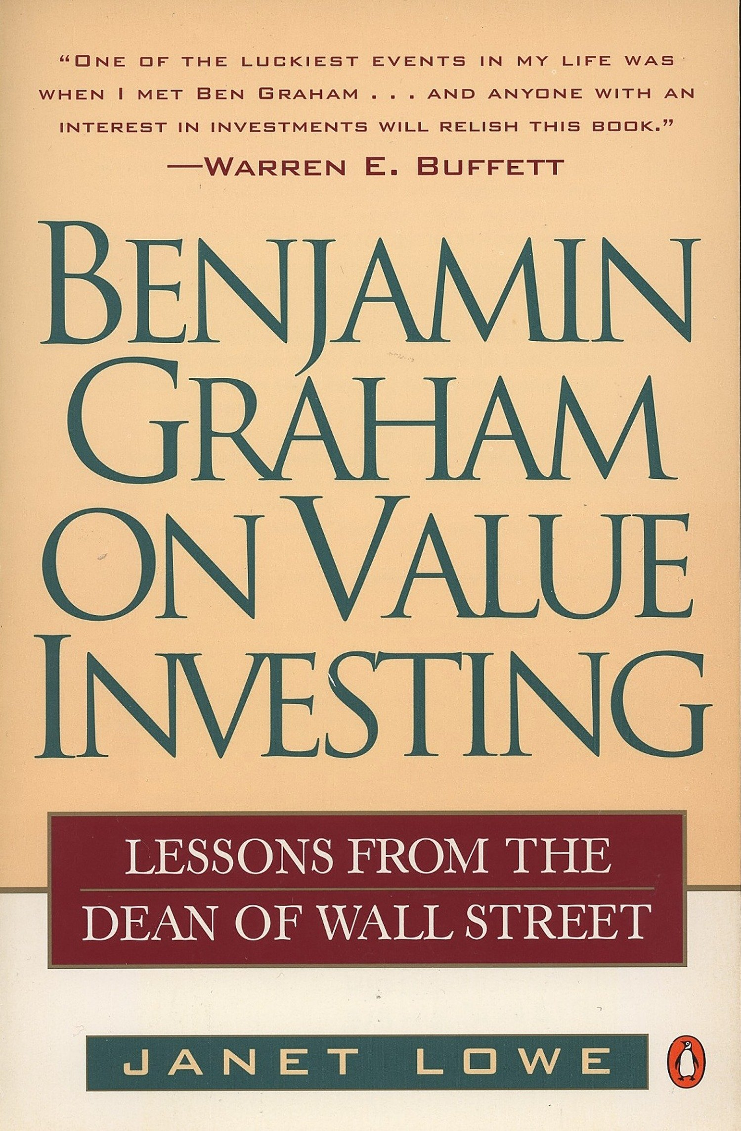 Benjamin Graham on Value Investing : Lessons from the Dean of Wall Street